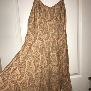Paisley light pink Old Navy dress never worn
